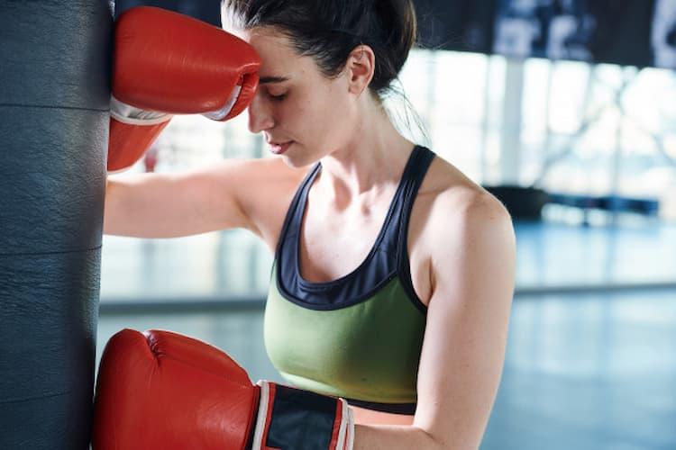 boxeuse anxieuse, cbd et anxiété